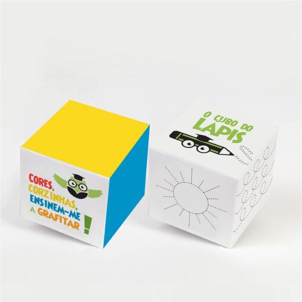 Cubos das Cores e dos Lápis